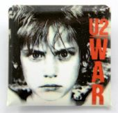 U2 - 'War' Square Badge